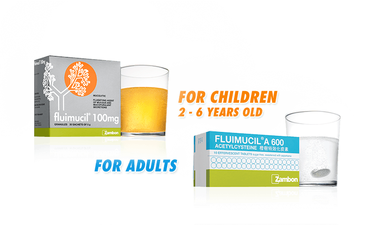 Fluimucil - Fluimucil is an effective mucolytic which helps to get